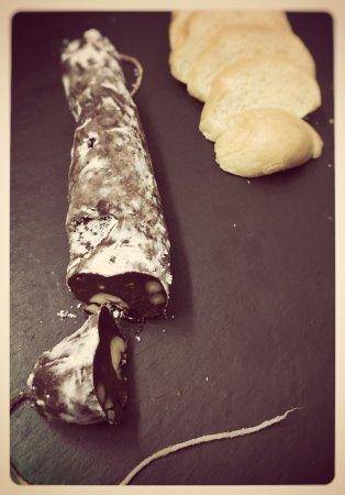 Santa Coloma de Gramenet, Espanha: Trampantojo de chocolate