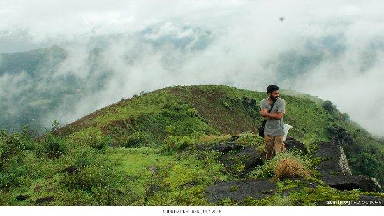 Kuduremukha, อินเดีย: Kudremukh trekking