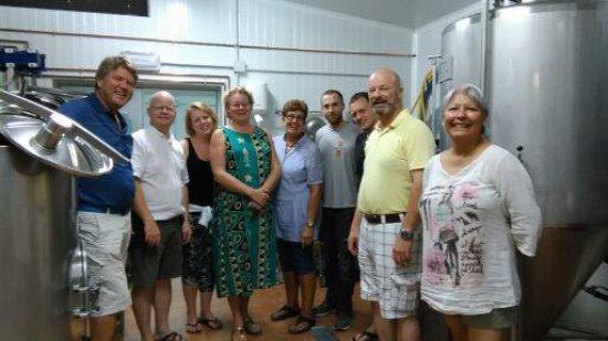 Caravaca de la Cruz, España: Puedes venir a hacer una cata de cerveza con tu grupo