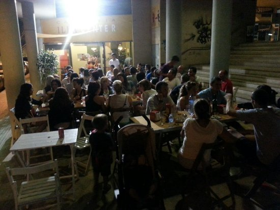 Cena al fresco picture of illa bar amposta tripadvisor