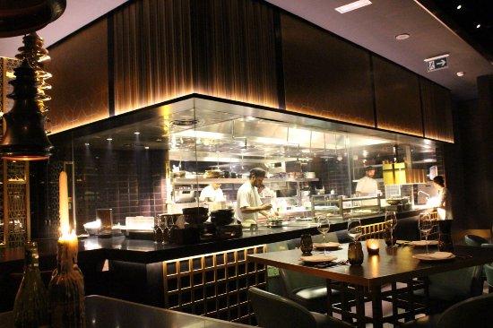 live kitchen picture of tamba restaurant abu dhabi