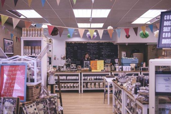 Horsham, UK : Our Shop & Cafe