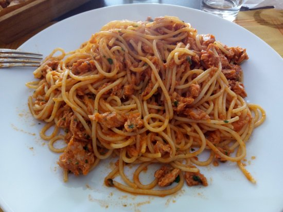 Villorba, Italië: pasta e tonno