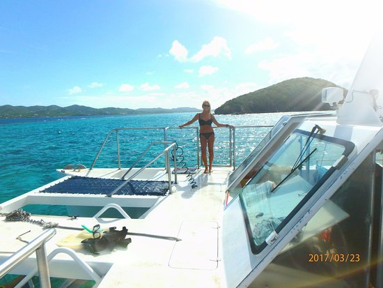Christiansted, St. Croix: Big Beards boat