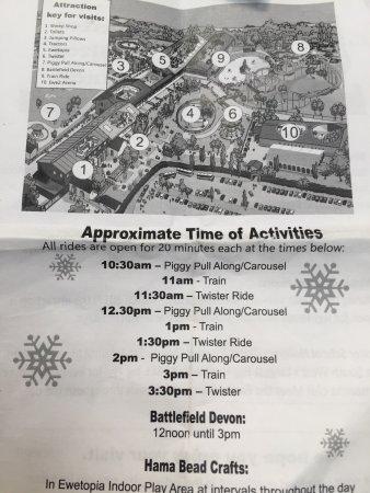 Байдфорд, UK: Winter opening / Availability - Very limited