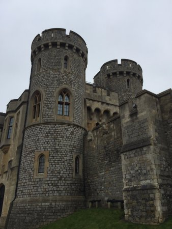 Windsor Castle: Some towers at Windsor
