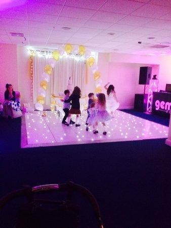 Bilston, UK: LED Dance-Floor Available