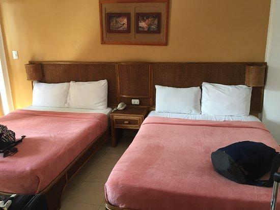 LD Le Flamboyant: Habitacion comoda, dos camas amplias