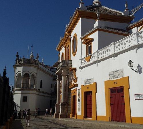 Photo of Historic Site Plaza de Toros de la Maestranza at Paseo Cristobal Colon 12, Seville 41001, Spain