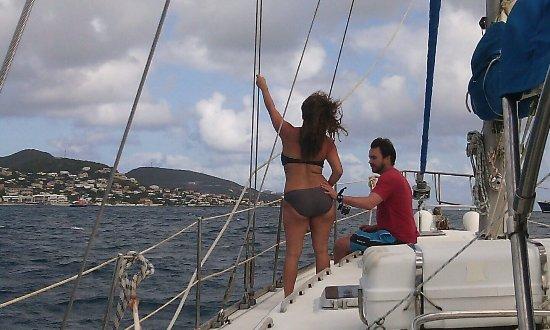 Sint Maarten, Isla de San Martín: Captain Morgan's Sailing Adventure