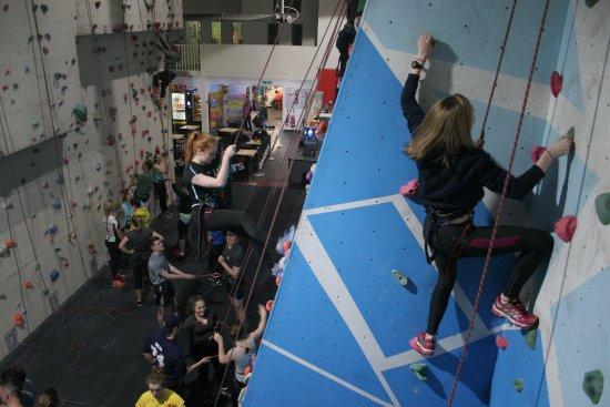 Boulders Indoor Climbing Centre : Group Climbing