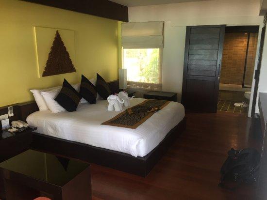 Banana Fan Sea Resort: Beachfront room