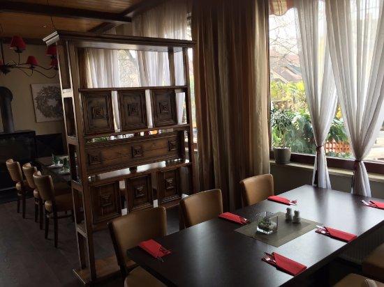 Roth, Tyskland: Blick in den Gastgarten