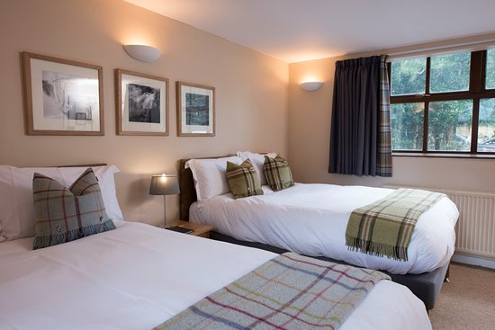 The Torridon Inn: Twin bedroom