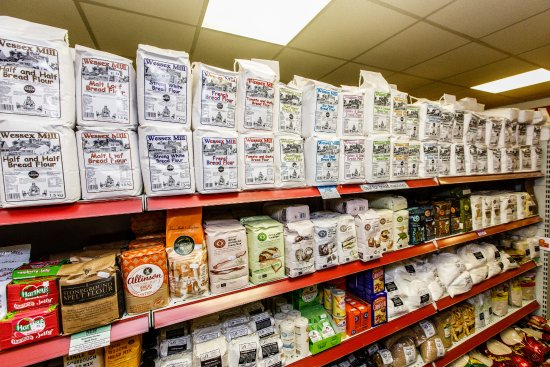Keith, UK: Our flours has been increasingly popular.  Huge range from Doves Farm and Wessex Mill!