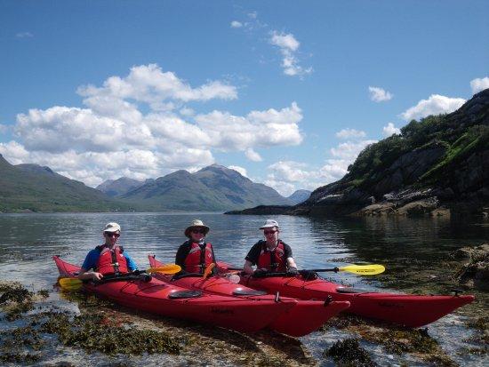 Torridon, UK: Onsite Sea kayaking