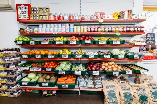 Keith, UK: Fresh fruit and vegetables along with a few special offers!