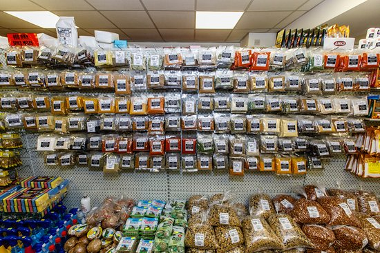 Keith, UK: Our herbs and spices range along with a few spice mixes that we make ourselves!
