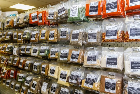 Keith, UK: We try and stock as much variety as possible!