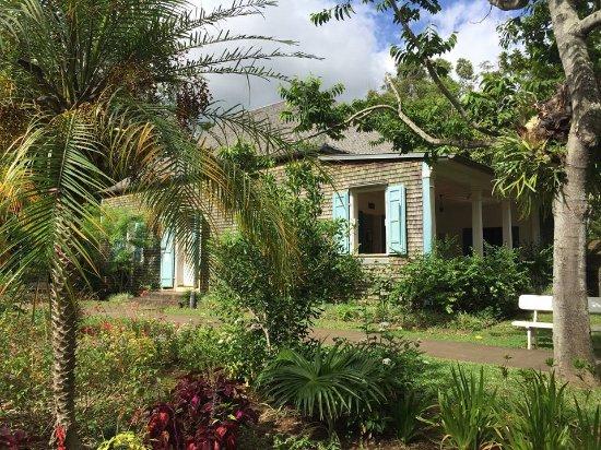 Saint-Gilles-les Hauts, Ilhas Reunião: Bâtiment Accueil pour la visite (extérieur)