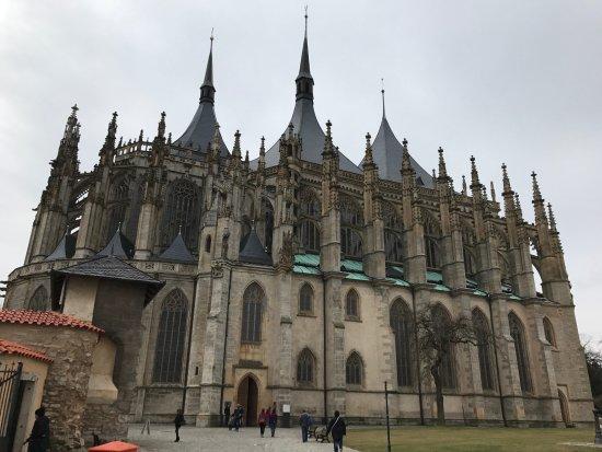 Kutna Hora, República Checa: Vista esterna