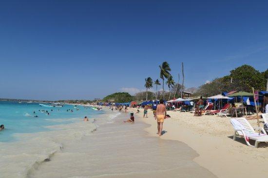 Isla Baru, Colômbia: Playa Blanca