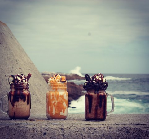 Lamberts Bay, Güney Afrika: Freakshakes!! what else??