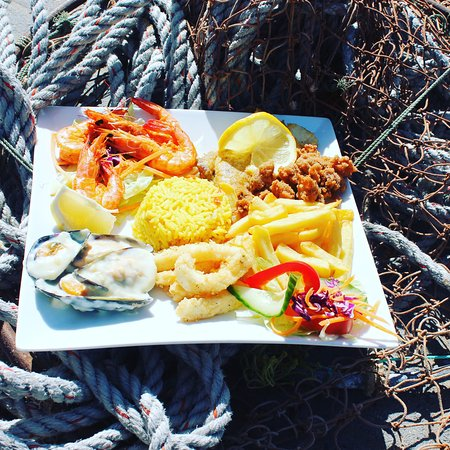 Lamberts Bay, Güney Afrika: Platter for 1