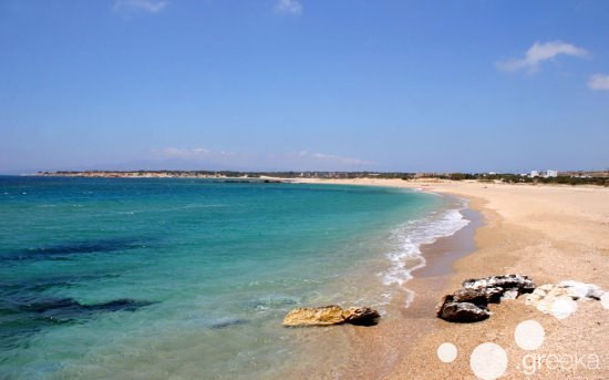Agios Prokopios, Greece: Laguna Beach of Naxos