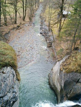 Trummelbach Falls : FALL AT VARIOUS LEVELS