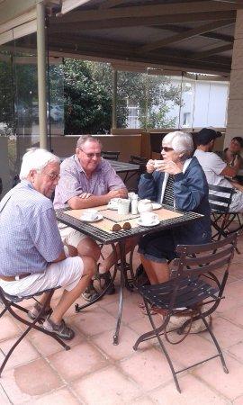 Greyton, Republika Południowej Afryki: Coffe cake and breakfast
