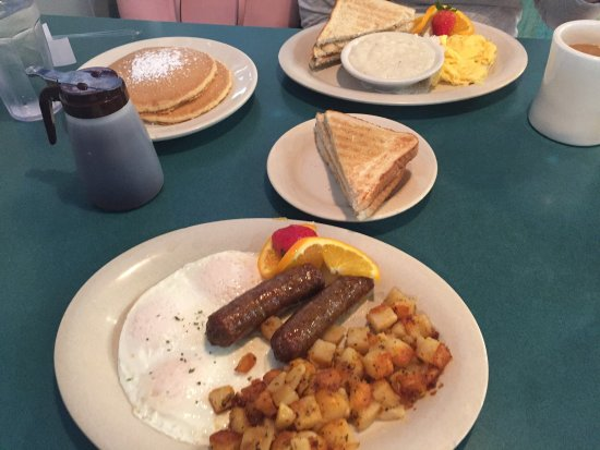 Stack S Pancakes Restaurant I Had The Hilton Head Breakfast And My Wife Eggs