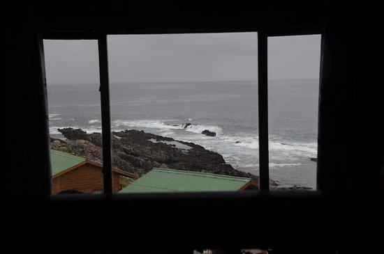 Storms River, South Africa: Aussicht von unserer Hütte