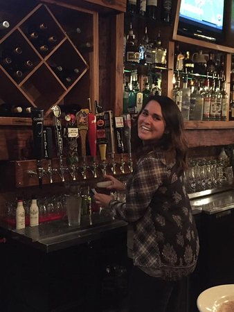 Claremont, NH: Our bartenders are the best in the area and fun to be around at Taverne on the Square