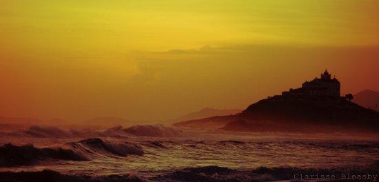 Praia de Itauna: Por do sol em Itauna