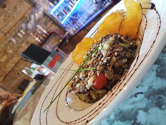 Saint Jerome, Canada: Salade lentille et riz sauvage
