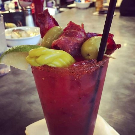 The Egg Bistro: Best bloody Mary!