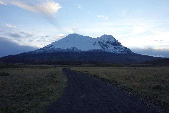 Machachi, Ecuador: The majestic Antisana, one of the least climbed of Ecuador's stratovolcanoes