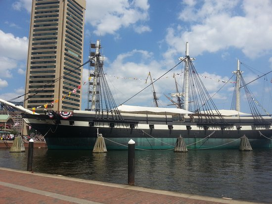 Historic Ships in Baltimore: Smell the wind and feel the fresh air!