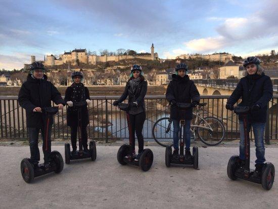 Chinon, France: Une superbe vue même en hiver !!