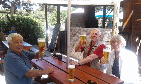 Nature's Valley, Afrique du Sud : Beer and fish