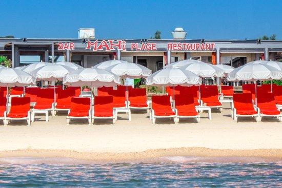 Mahi-Plage: vue de la mer