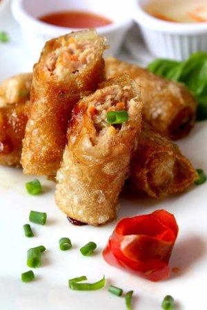Санта-Ана, Коста-Рика: Fried Rolls!!