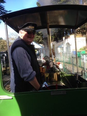 North Bay Railway: Edward the new train driver extraordinaire.