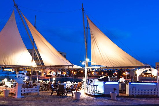 Maritim Restaurant overlooking Abu Tig Marina