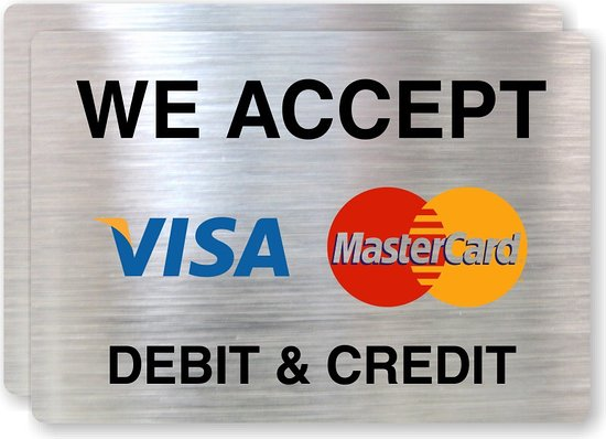 Cwmbran, UK: We accept card payments and cash.