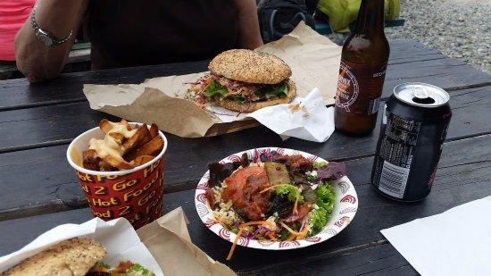 Marahau, Nova Zelândia: Our meal