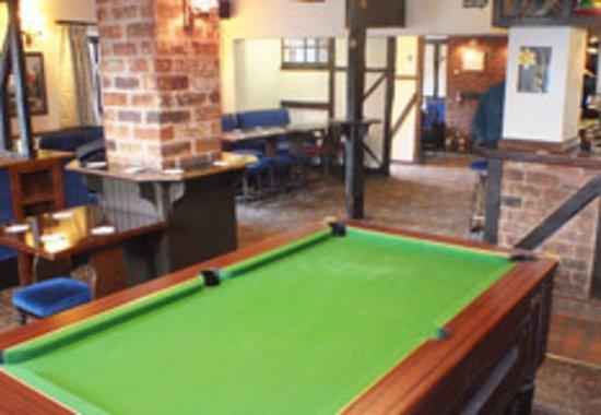 Guilsfield, UK: Bar Area