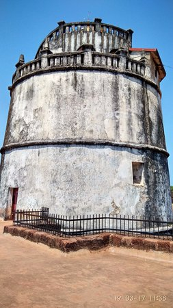 Sinquerim, India: Old Lighthouse