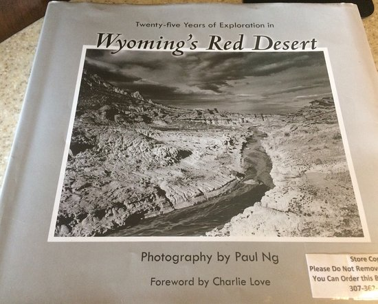 Rock Springs, WY: 'Wyoming's Red Desert' by Paul Ng. Ask for details in shop to order.